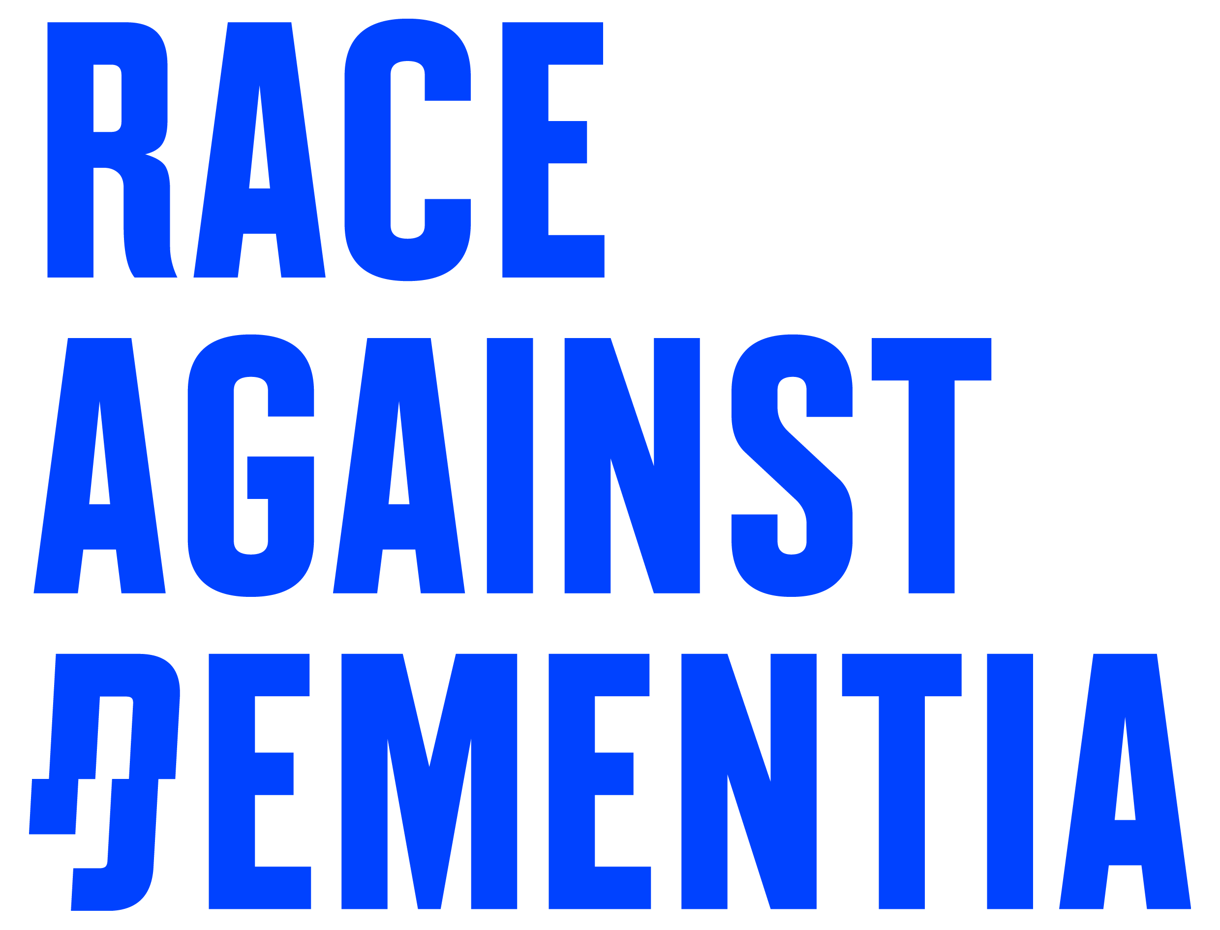 Race Against Dementia Logo