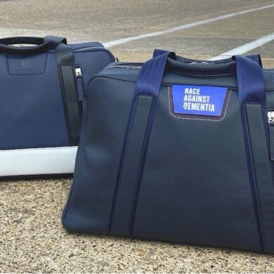 Jordan Bespoke unveils Champions of Monaco and Jim Clark luxury leather bags raising funds for both Race Against Dementia and The Jim Clark Trust from every purchase